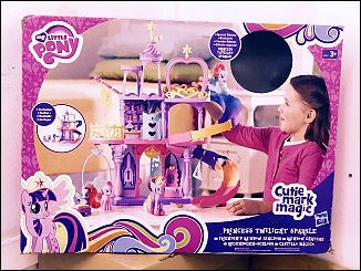 Cutie Mark Magic Friendship Rainbow Kingdom Playset